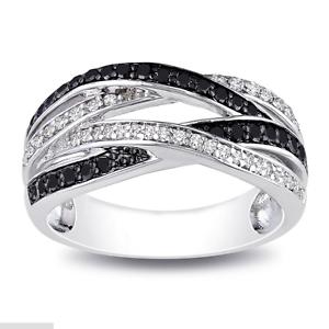 Élégant Femme Argent 925 Bijoux Round Cut blanc saphir bague de mariage Taille 6-10