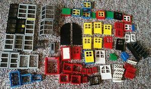 LEGO-Huge-Lot-of-Doors-Windows-Vintage-amp-Recent-Castle-Police-Harry-Potter
