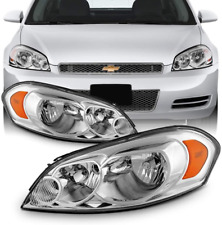 Headlights For 06 13 Chevy Impala 06 07 Monte Carlo Reflector Chrome Lamps Lr Fits 2006 Impala