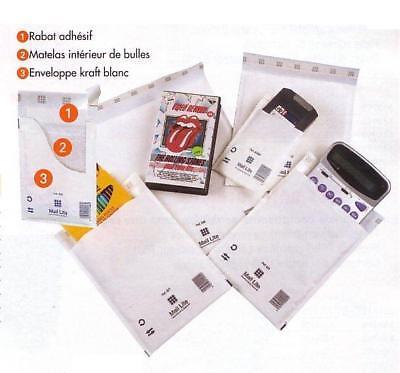 Blanc Uni enveloppes Plain DL Papier USM335 2012