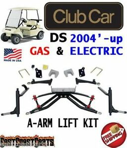 Club Car Ds Golf Cart 2004 Up Jake S 4 Double A Arm Lift Kit 7462