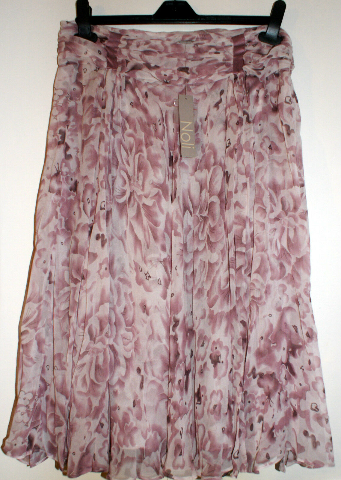 NOLI Misty pink Silk Skirt BNWT