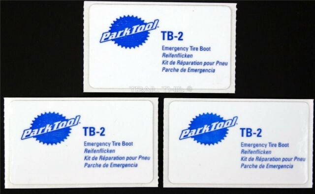 Park Tool TB-2 Tyre Boot Emergency Patch Kit Bike Bicycle Patch Repair Puncture