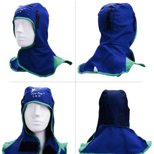 Flame Retardant Safey Helmet Welding Neck Protective Hood Head Cover