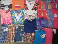 Girls Summer Clothes Lot Size 12 L 14 Justice Mudd Speechless Outfits Sets