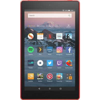 Amazon Fire HD 16GB WiFi Tablet Tablet Punch Red