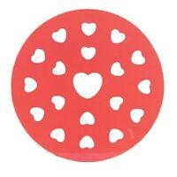 Fox Run Heart Shape 9 Pie Top Crust Cutter - Decorative Pie Topper Mould