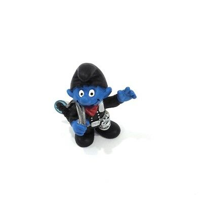 CHIMNEY SWEEP SMURF VINTAGE by SCHLEICH FROM THE SMURFS 20467