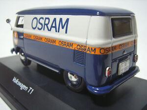 Super Rare Schuco Vw T1 Bulli Van Osram Lighting Promo 1:43 Neuf En Boîte 1 De 500