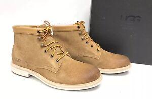23ecadd0f38 Details about UGG Australia Men's VESTMAR BOOTS Chestnut 1017779 Chestnut  Lace Up Shoes sz