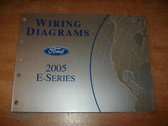 2005 Ford E Series Van Wiring Diagrams Service Manual Shop