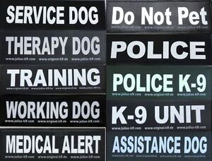Large-Patch-for-Julius-K9-Harness-Letters-A-K-NEW-AGILITY-ASSISTANCE-DOG