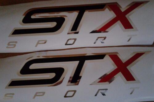 set STX sport decal sticker special edition truck