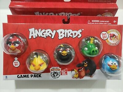 Argent Rovio Angry Birds-Mission troupeau pack Chuck Leonard! bombe - Rouge x3