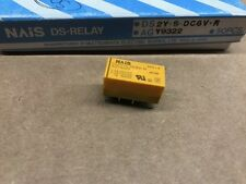 Lot of 50 Aromat Relays DS2YE-SL2-DC12V DPDT PC Mount