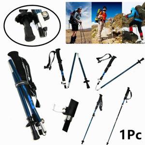 Trekking-Walking-Hiking-Sticks-Poles-Adjustable-Alpenstock-anti-shock-Folding-US