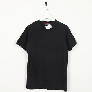 Vintage-GUESS-Big-Logo-T-Shirt-Tee-Black-Medium-M