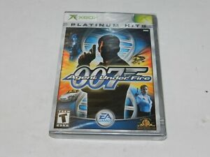 007 Agent Under Fire Microsoft XBOX Game Brand New Sealed James Bond