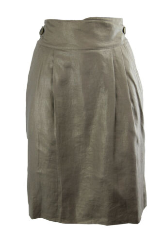 F2 Temperley Skirt Belted Gold Alice 10 Size London By 8xq1BS