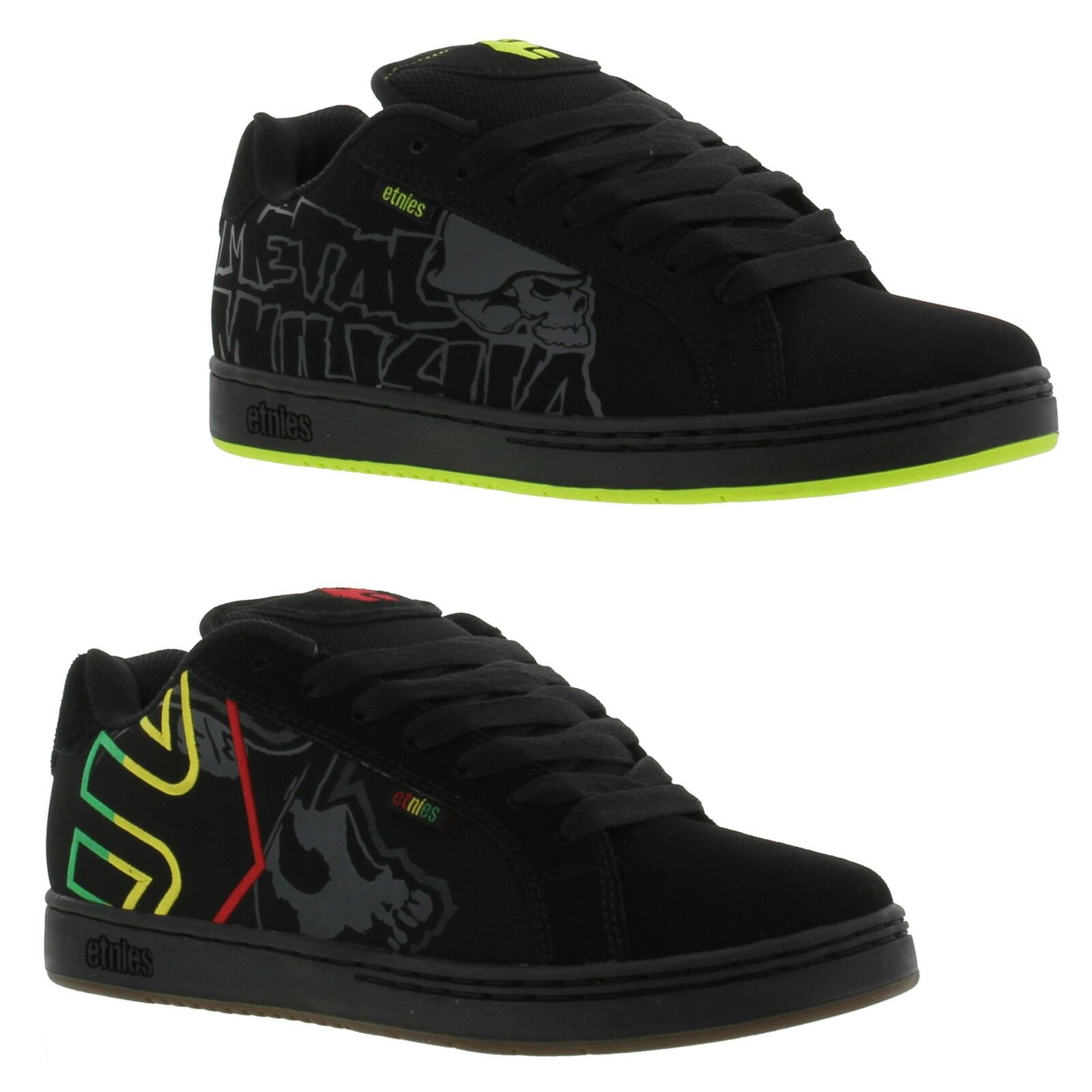 Etnies Metal Mulisha Fader Mens Skate Shoes Trainers Size