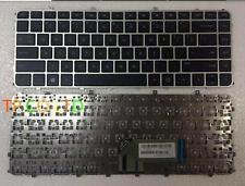 NEW for HP Envy Ultrabook 6-1012ed 6-1012sd 6-1020ed Keyboard US Silver Frame