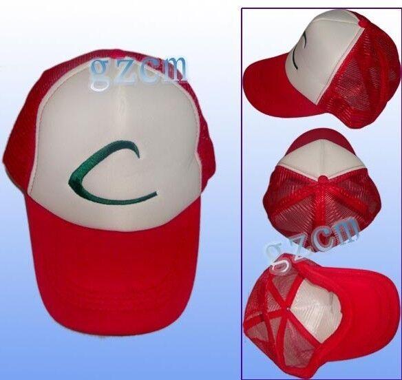 Nintendo New Retro POKEMON -ASH KETCHUM' Cartoon Hat Cap Trucker Baseball
