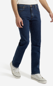 eec39661 Image is loading Mens-Wrangler-Arizona-Straight-Stretch-Fit-Jeans-039-