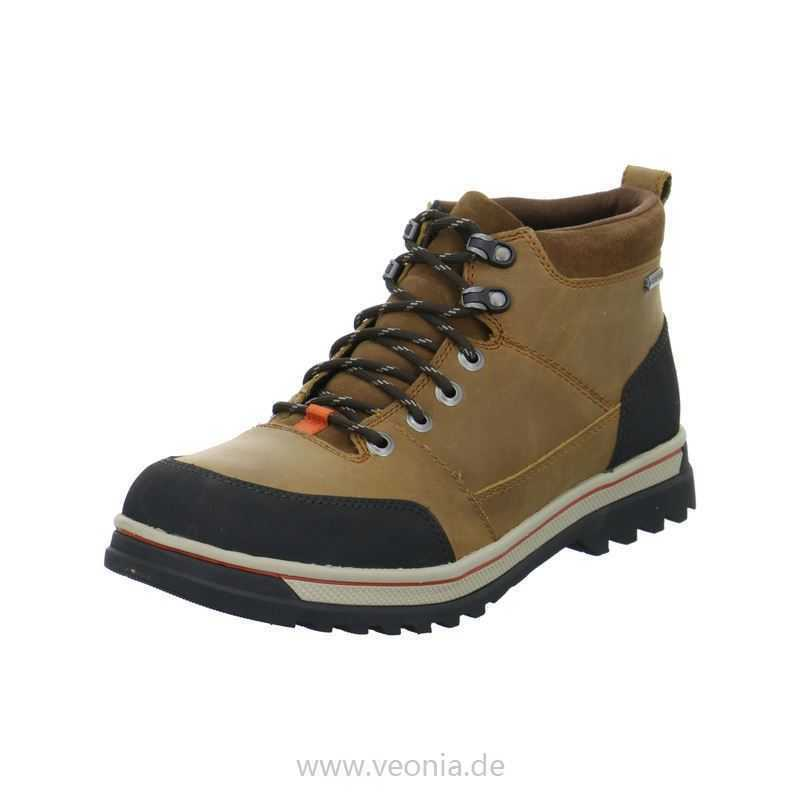 Clarks Herren  Ripway Top GTX  Tabak Gefüttertes Hiking-Active Air UK 7 8 9 10