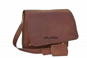 Handmade-Satchel-Gifts-Bag-Vintage-Goat-Leather-Messenger-Retro-Shoulder-Laptop