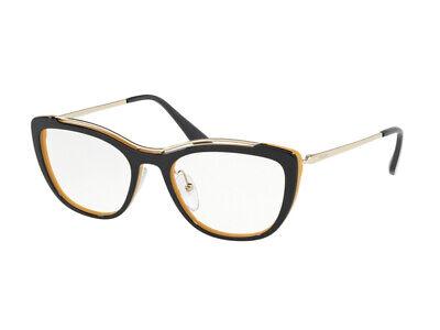 Montatura Occhiali Da Vista Prada Autentici Pr 04vv Blu Wu01o1