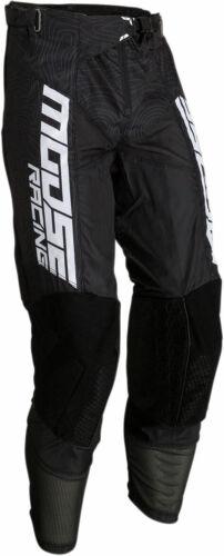 Choose Size Black//White Moose Racing MX Off-Road M1 AGROID Pants