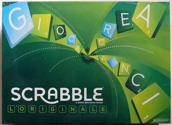 Scrabble, the original - Game table, New by Mattel, Italiano