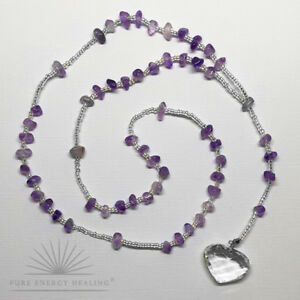 Rosary-Beads-Amethyst-Crystal-With-Heart-Blessed-Energised-John-of-God-Brazil