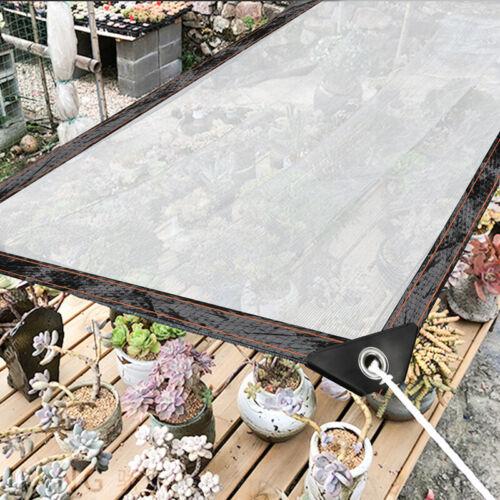 Gewächshaus Folie Transparente für Gartenmöbel Klare Plane Wasserdichte Mit Ösen