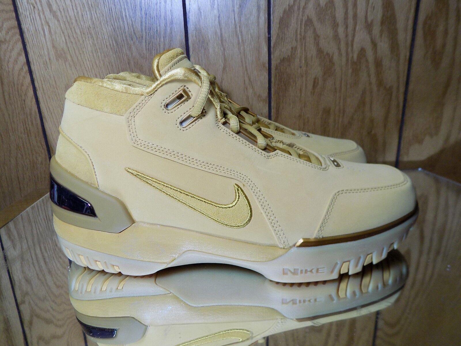 Nike LeBron Air Zoom generación retro LeBron Nike trigo / oro aq0110 700 Precio reducción salvaje Casual Shoes bcdb67