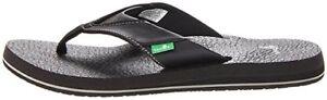 NEW-Sanuk-Men-039-s-Yoga-Mat-Beer-Cozy-Flip-Flop-Sandals-Slippers