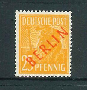 Berlin-Rotaufdruck-Michel-Nr-27-Aufdruck-Falsch-geprueft-Schlegel-BPP