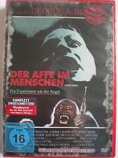 Der Affe im Menschen - Experiment mit der Angst - George A. Romero Affen Mörder