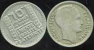 10 Francs Turin 1946b Grosse Tete Rameaux Courts Wtk0eyr6-08004009-394268712