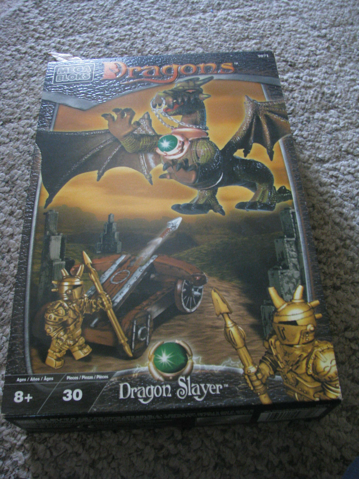 Mega Blocks Dragones Dragon Slayer