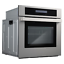 thumbnail 6 - Cosmo Single Electric Wall Oven 24 in. 2.5 cu. ft. Safety Lock Stainless Steel