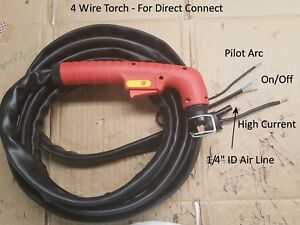 Details about 4 Wire Replacement Plasma Torch + Fix Repair Non-HF Plasma on