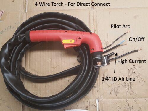 Fix Repair Non-HF Plasma Cutter Solar Century 4 Wire Replacement Plasma Torch