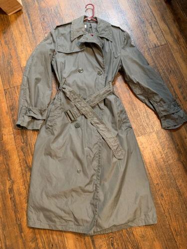 VIntage Rare 40L Mens Raincoat Cotton And Nylon Ar