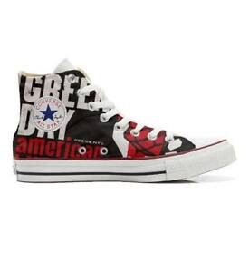 Scarpe sneakers Converse All Star Custom Harley artigianali Made in Italy