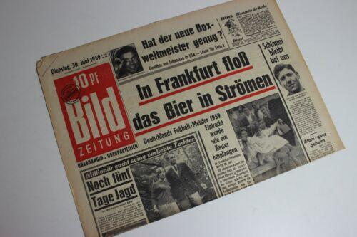 64 65 62 BILDzeitung 30.06.1959 Juni 30.6.1959 Geschenk 61 Geburtstag 63