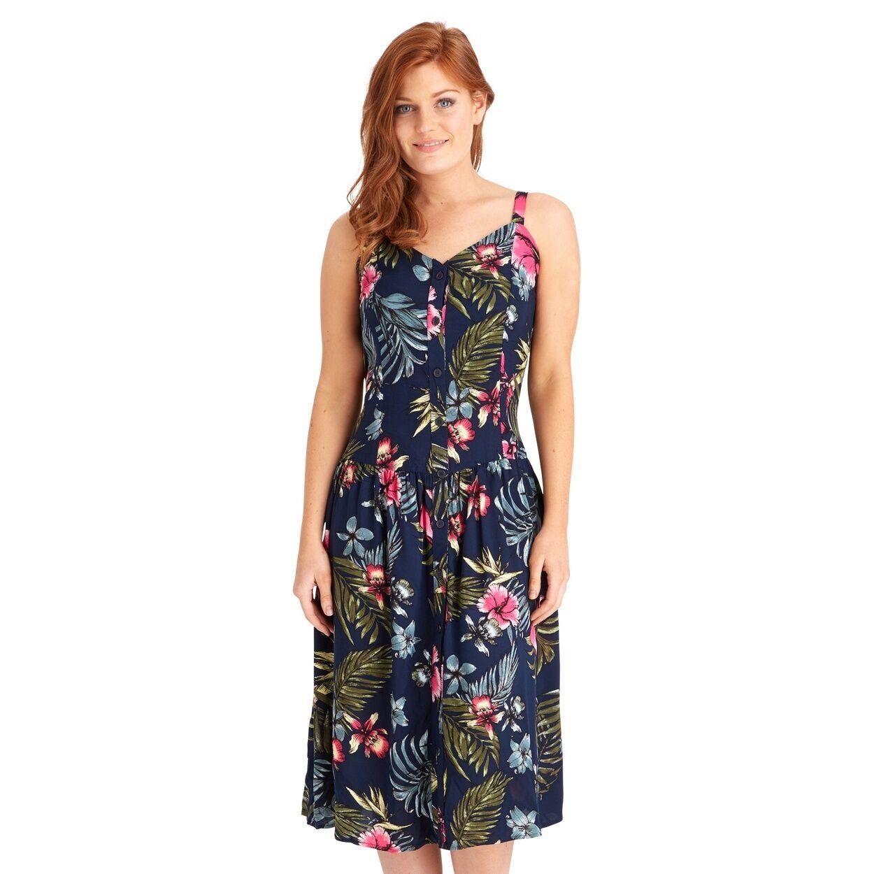 Joe Browns Multi colord Favorite Dress Size 10 RE076 GG 09