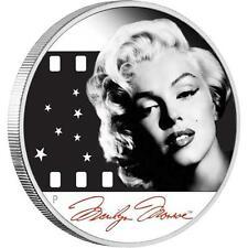Tuvalu 2012 1$ Marilyn Monroe Proof .999 1 Oz Silver Coin
