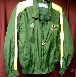 Green Bay Packers Jacket Mens M Logo