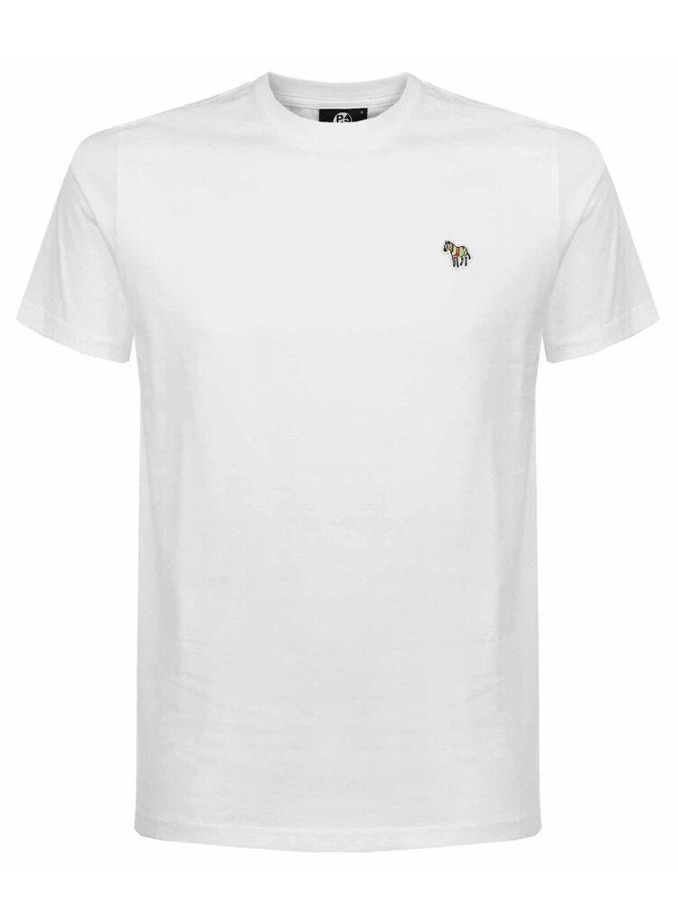 Paul Smith Zebra Badge T-Shirt in Weiß